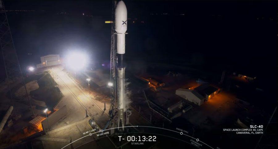 SpaceX internet satellite
