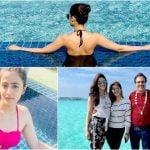 Kriti Sanon's family vacation in the Maldives