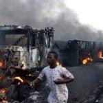 Explosion of over-turned tanker In Niger: 55 killed