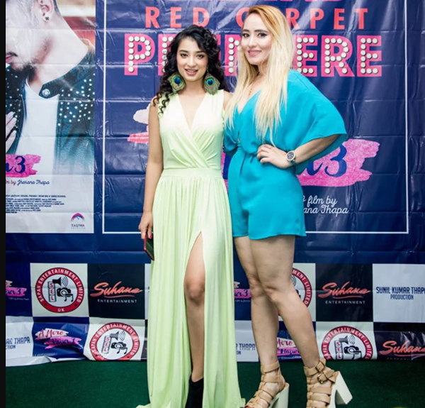 """Kollywood Star """"SUHANA THAPA"""" Gorgeous Look at Red Carpet in London:"""