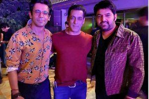 Salman brings Kapil and Sunil together