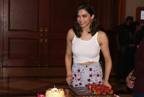 Deepika celebrates her birthday