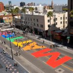 L.A. making permanent All Black Lives Matter mural on Hollywood Boulevard to commemorate march that drew thousands in June 14