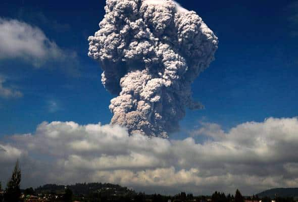 Indonesia volcano eruption: Mount Sinabung spews ash cloud