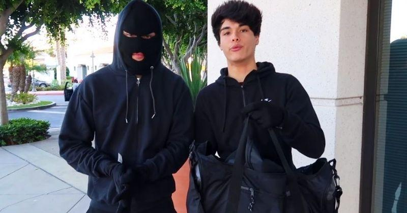 TikTok twins arrested over bank robbery 'prank'