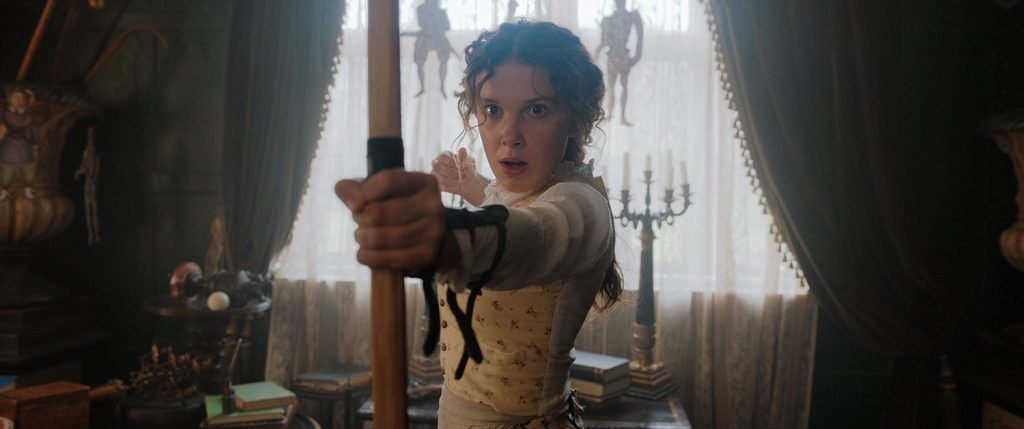 "Millie Bobby Brown,16, plays as sister of intelligent Sherlock Holmes' in the movie ""Enola Holmes"""