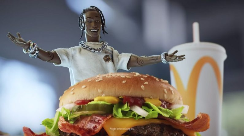 McDonald's begins selling $6 meal named after the famous rapper Travis Scott