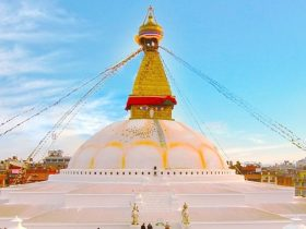Boudha is stunning area you ought to go to it