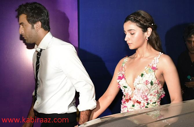 Alia Bhatt and Ranbir Kapoor started dating a couple of years ago.