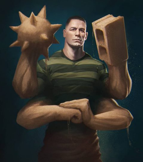 John Cena, 43, to appear as the savage 'Sandman' in upcoming Spider-Man movie